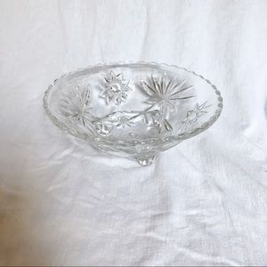 Other - Crystal Bowl with Legs